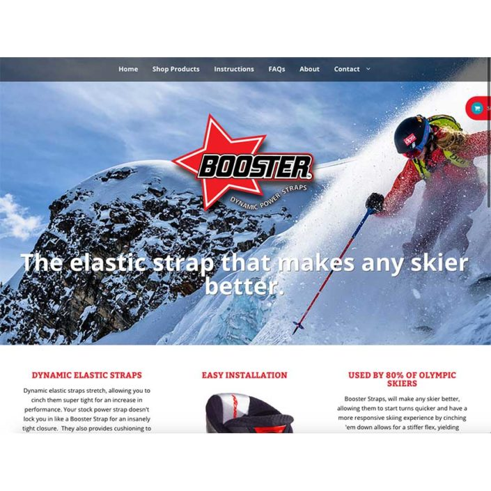 Booster Strap Website