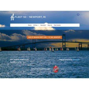 J/24 Fleet 50 Website