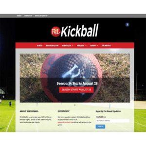 RI Kickball Website