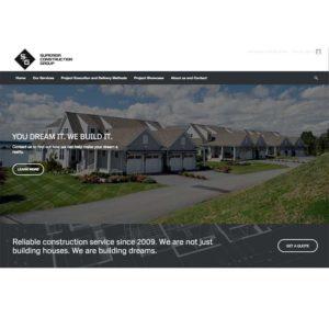 Superior Construction Website